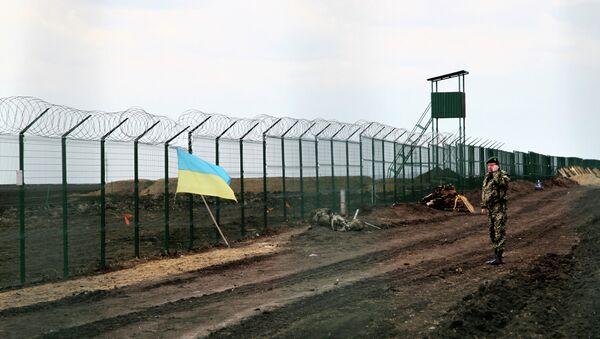 Ukraina buduje mur na granicy z Rosją - Sputnik Polska