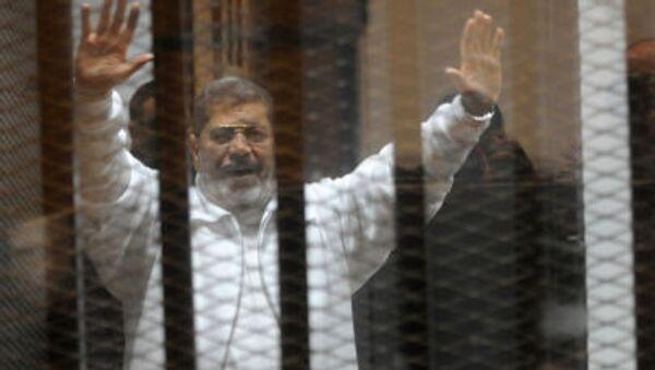 Były prezydent Egiptu Muhammad Mursi - Sputnik Polska