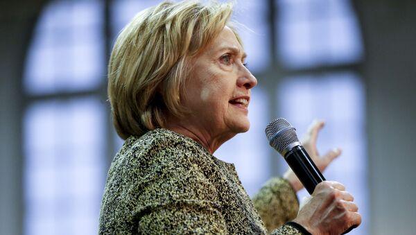 Kandydatka Demokratów na prezydenta Stanów Zjednoczonych Hillary Clinton - Sputnik Polska