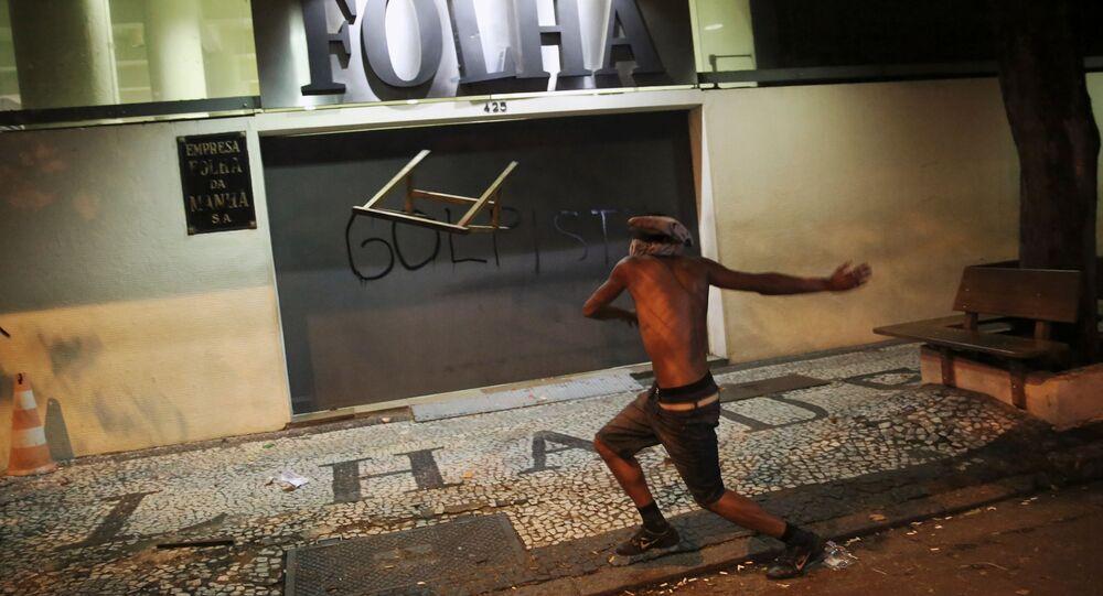 Protesty po impeachmencie Dilny Rousseff w Brazylii