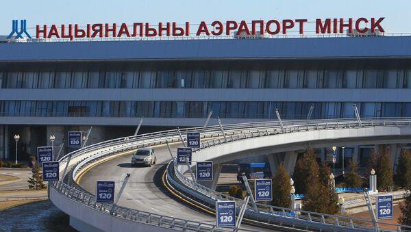 Lotnisko w Mińsku. - Sputnik Polska
