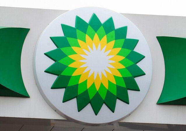 Logo brytyjskiego przedsiębiorstwa naftowego BP