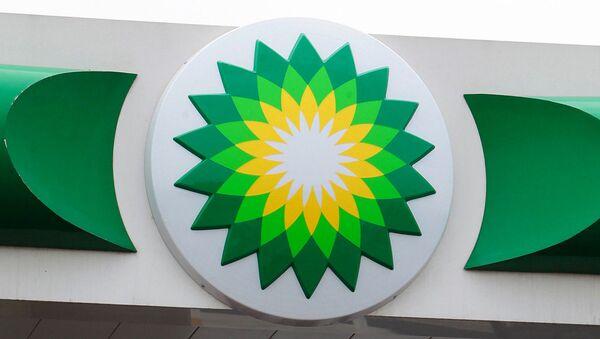 Logo brytyjskiego przedsiębiorstwa naftowego BP - Sputnik Polska