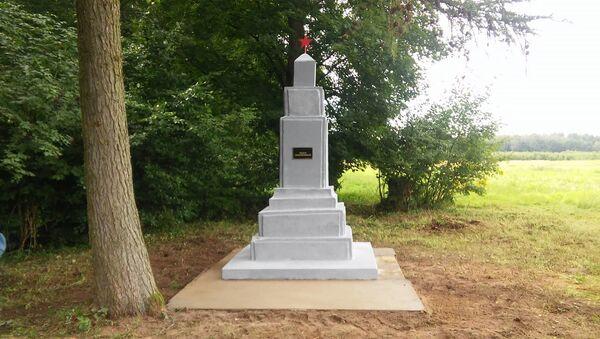Pomnik radzieckich czołgistów w Golczewie - Sputnik Polska