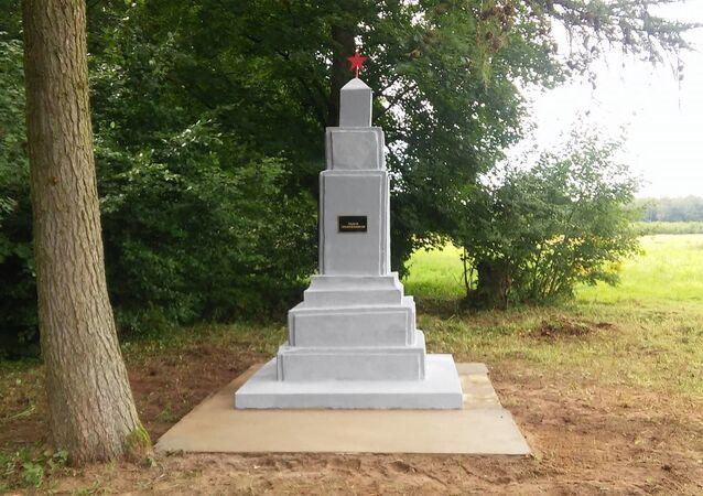 Pomnik radzieckich czołgistów w Golczewie