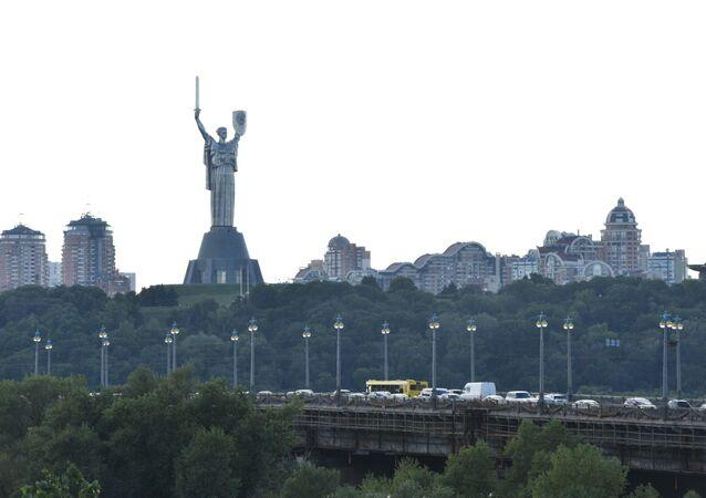 Pomnik Matka Ojczyzna. Kijów