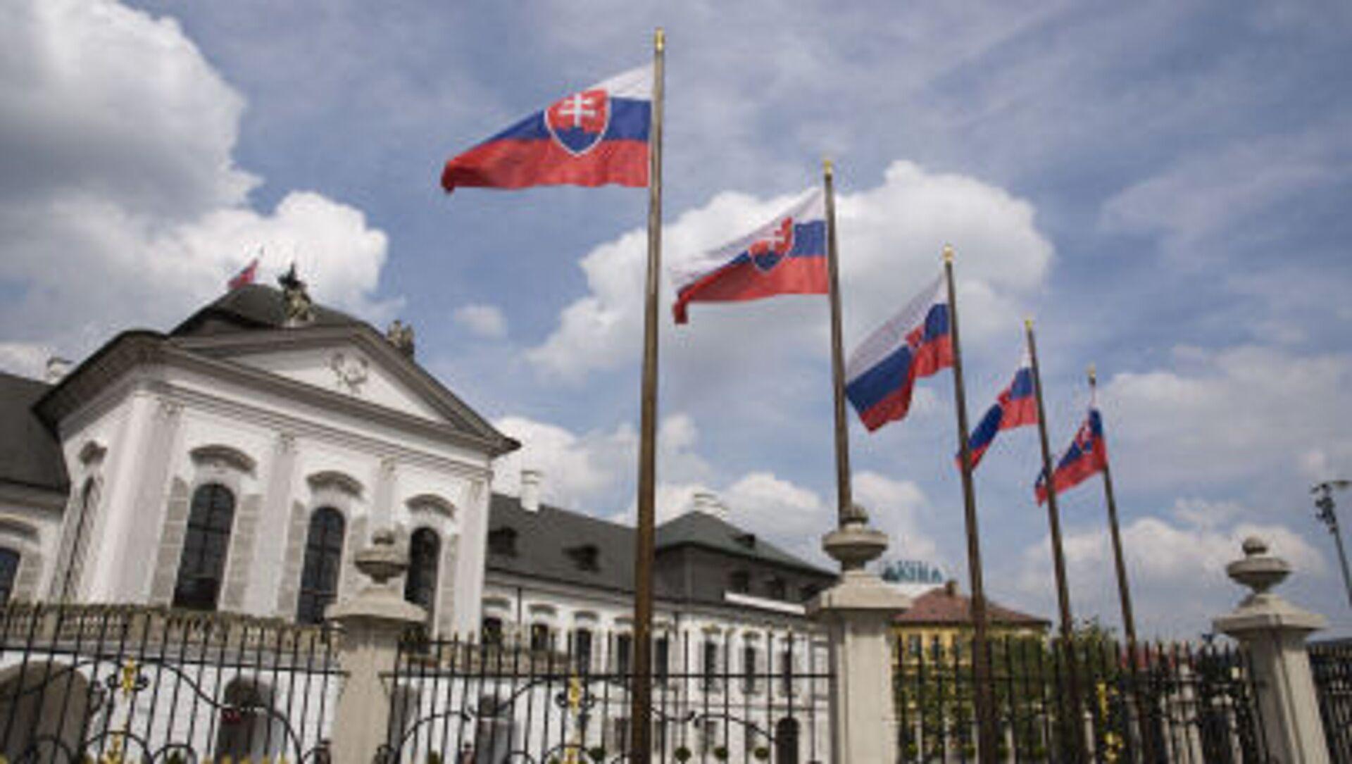 Siedziba prezydenta Słowacji w Bratysławie - Sputnik Polska, 1920, 15.04.2021