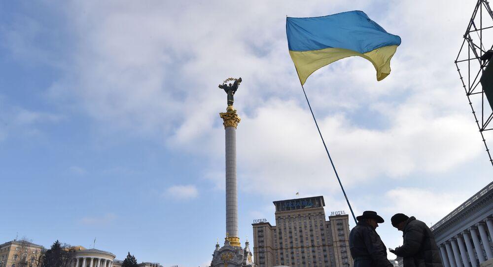 Plac Niepodległości w Kijowie