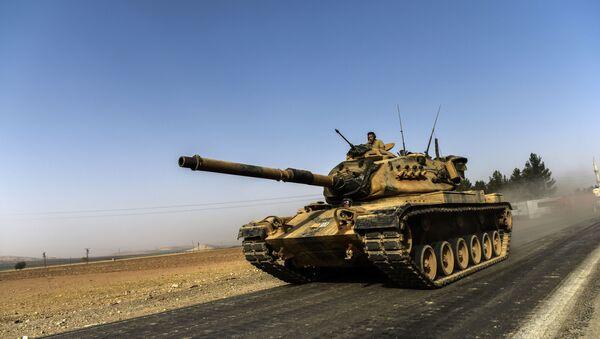 Turecka operacja w Syrii - Sputnik Polska