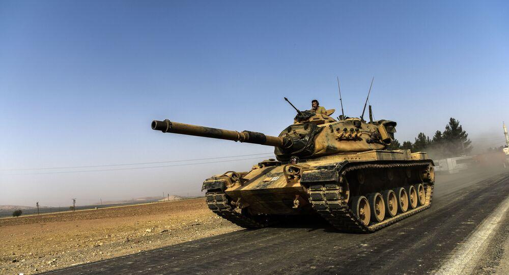 Turecka operacja w Syrii