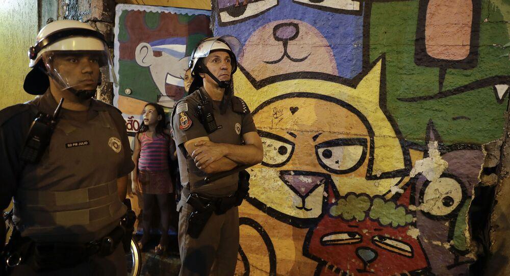 Brazylijscy policjanci