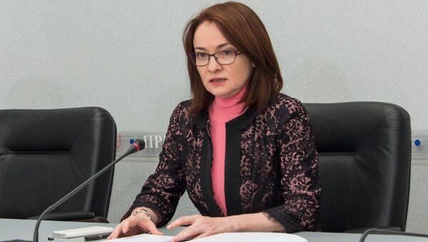 Szefowa Banku Centralnego Rosji Elwira Nabiullina - Sputnik Polska