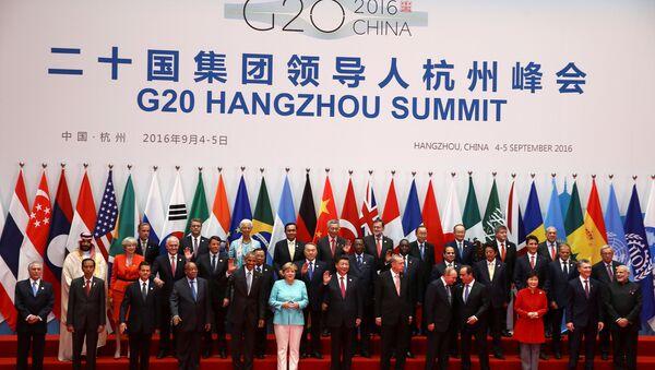 Szczyt G20 w chińskim Hanzhou - Sputnik Polska
