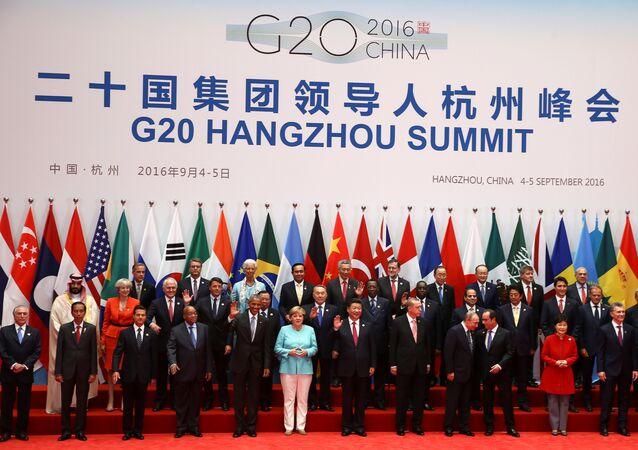 Szczyt G20 w chińskim Hanzhou