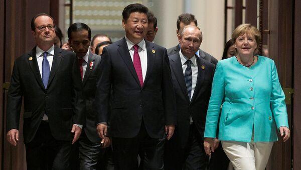 Szczyt G20 w chińskim Hangzhou - Sputnik Polska