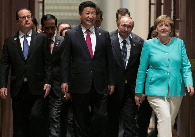 Szczyt G20 w chińskim Hangzhou