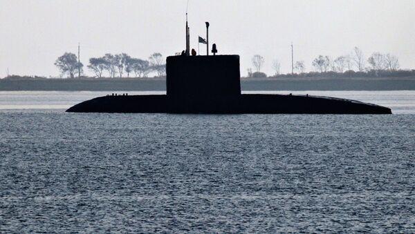 Rosyjski okręt podwodny klasy Warszawianka - Sputnik Polska