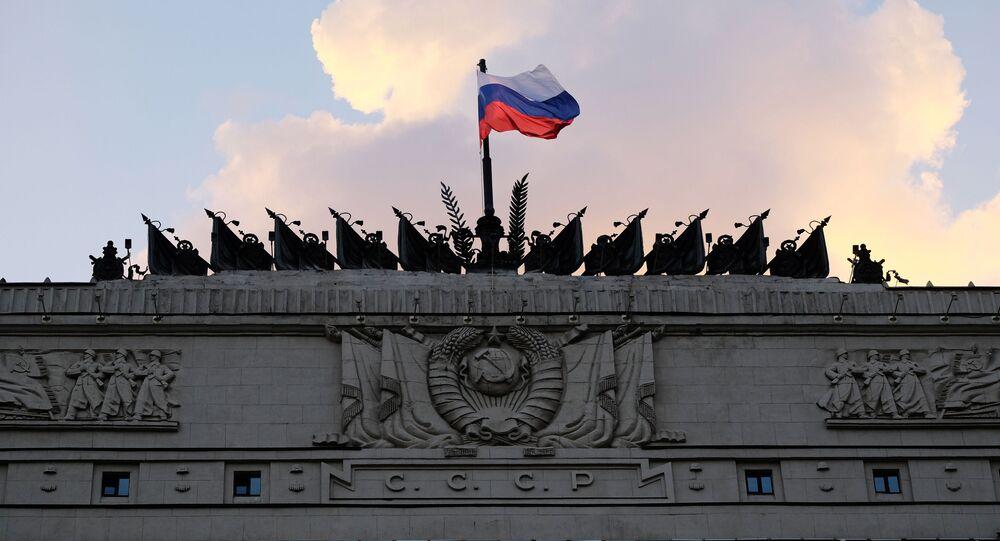 Budynek rosyjskiego Ministerstwa Obrony