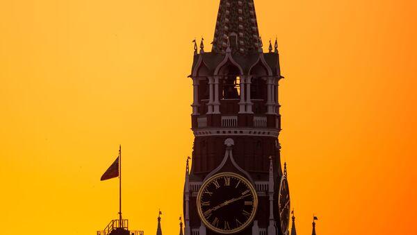 Baszta Spasska na Kremlu - Sputnik Polska