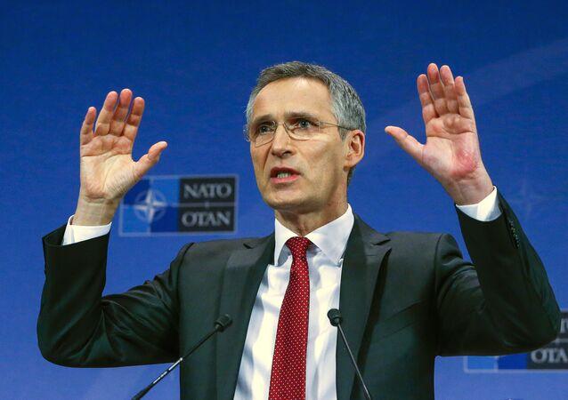 Sekretarz generalny NATO Jens Stoltenberg