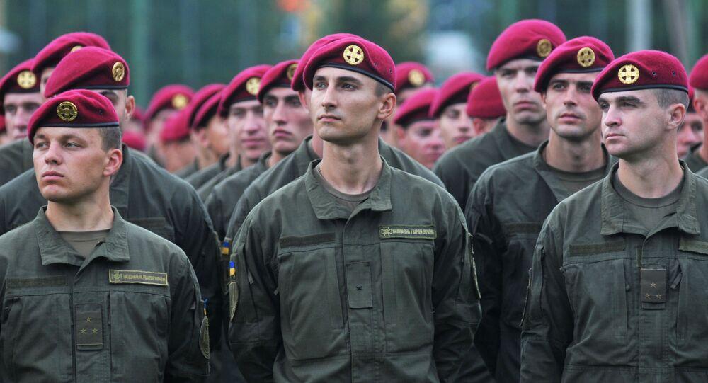 Żołnierze Ukraińskich Sił Zbrojnych