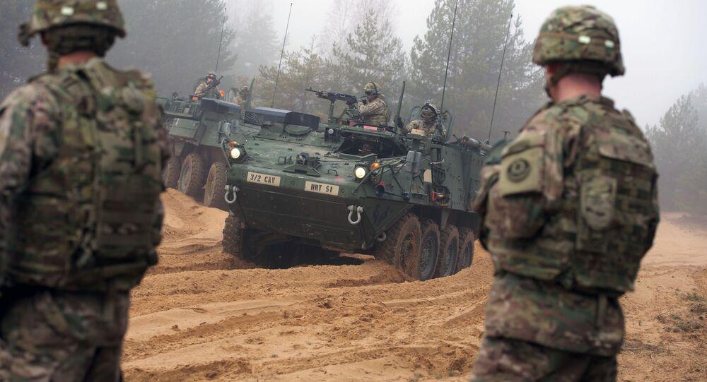Wspólne szkolenia wojskowe na Łotwie