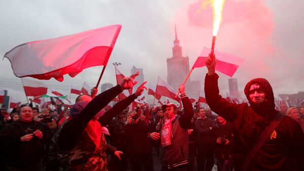 Polska. Warszawa. 11 listopada 2015 - Sputnik Polska
