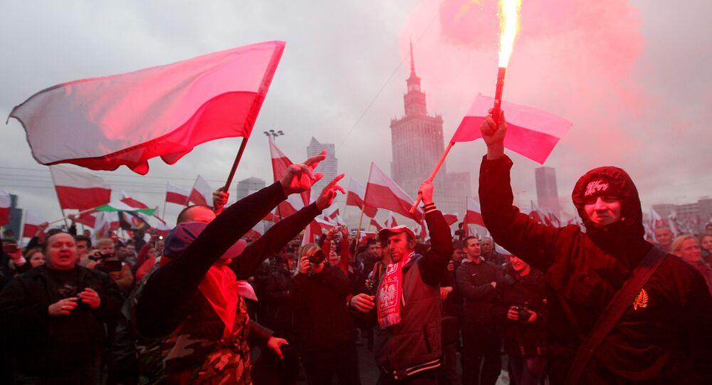 Polska. Warszawa. 11 listopada 2015
