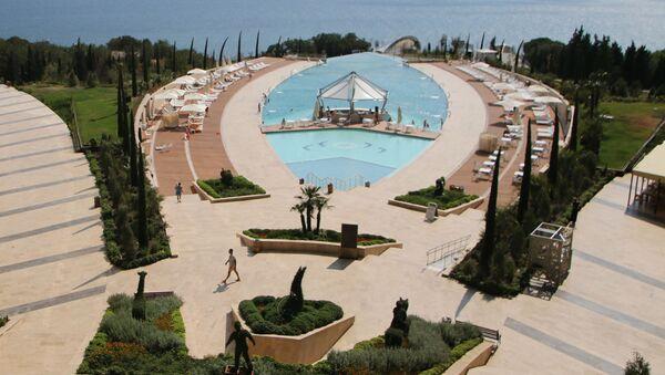 Pięciogwiazdkowy hotel Mriya Resort & Spa - Sputnik Polska