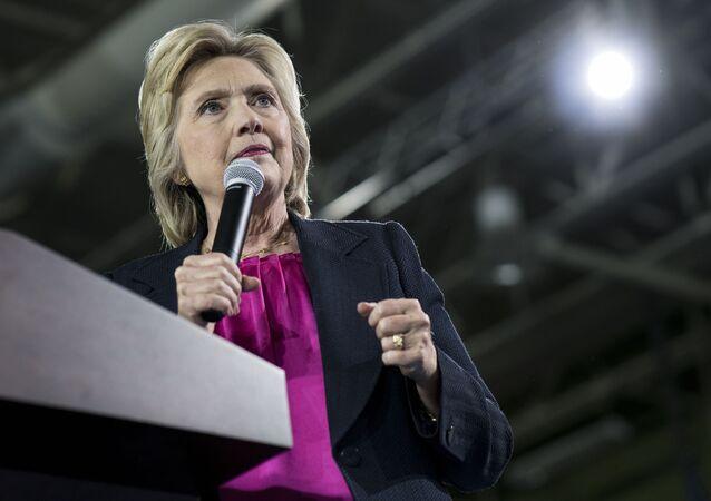 Kandydatka Demokratów na prezydenta USA Hillary Clinton