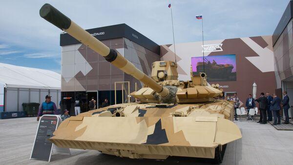 Zmodernizowany czołg T-72 - Sputnik Polska