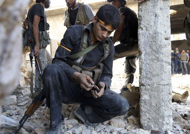 Siły syryjskiej opozycji. Aleppo