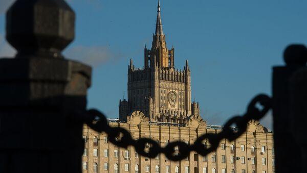 Siedziba MSZ Rosji w Moskwie - Sputnik Polska