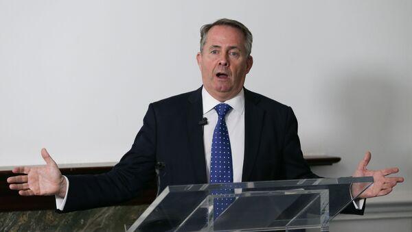 Liam Fox, minister handlu międzynarodowego w rządzie Theresy May - Sputnik Polska