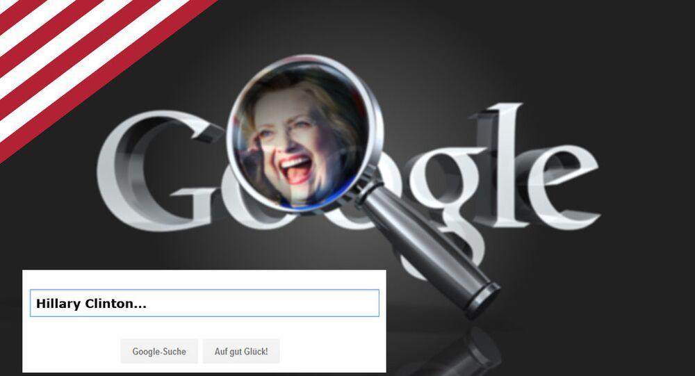 Google zadba o miliony głosów dla Clinton