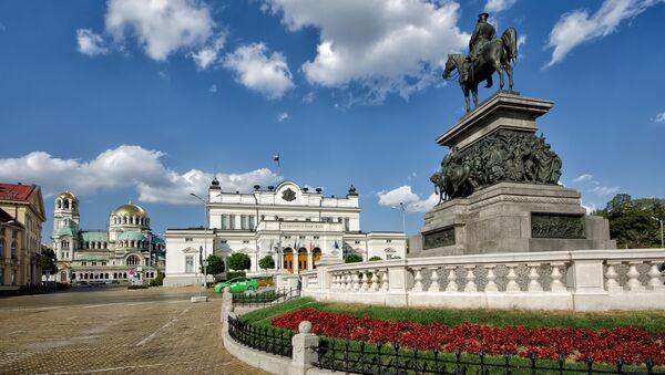 Pomnik Aleksandra II naprzeciwko parlamentu w Sofii, Bułgaria - Sputnik Polska