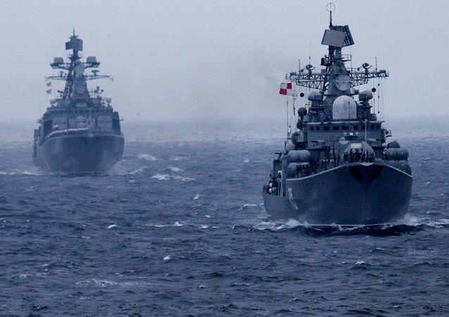 """Rosyjsko-chińskie ćwiczenia """"Morskie Współdziałanie 2015"""" we Władywostoku"""