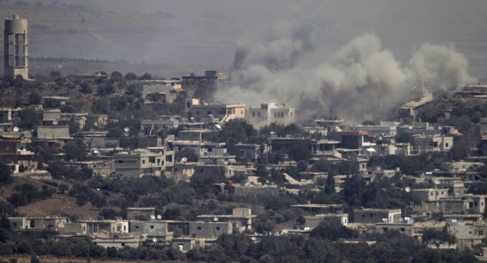 Syryjskie miasto na Wzgórzach Golan ostrzelane przez izraelskie siły powietrzne