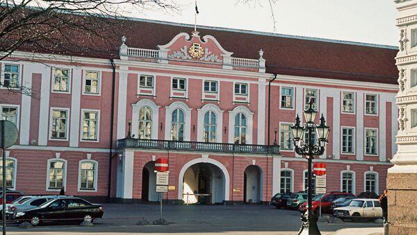 Siedziba parlamentu w Tallinnie - Sputnik Polska