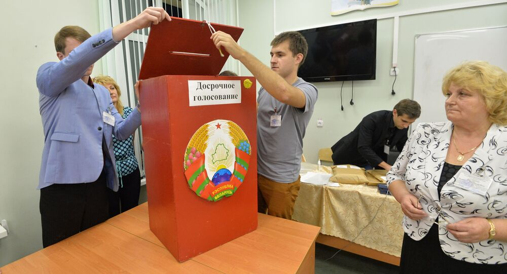 Wybory parlamentarne na Białorusi