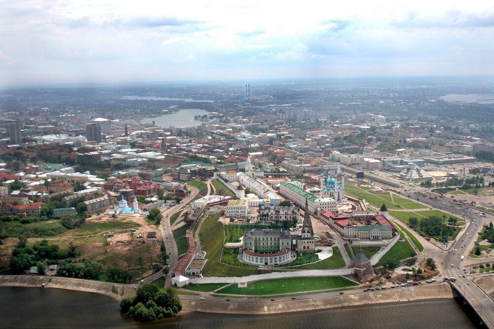 Kazański Kreml w 2000 roku