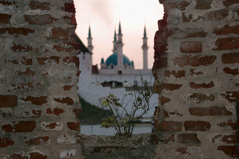 Widok na meczet Kul Szarif