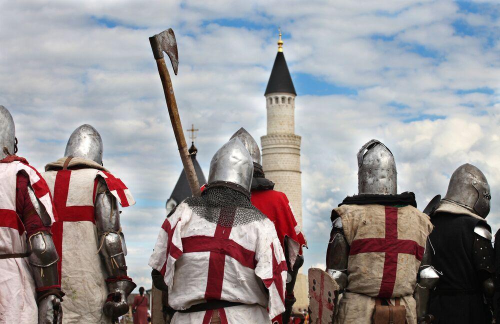 Rekonstrukcje walk rycerskich w Kazaniu