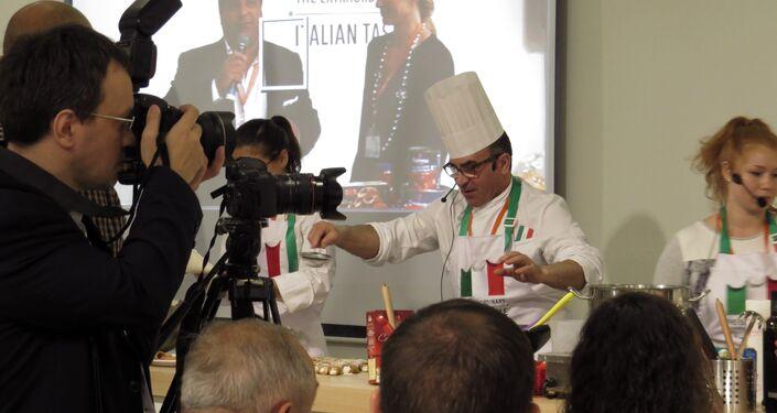 Kulinarne warsztaty od mistrza kulinarów z Włoch