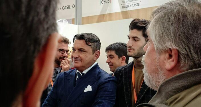 Przedstawiciele spółek z Włoch