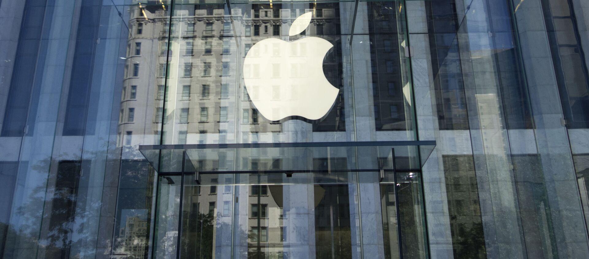 Sklep Apple w Nowym Jorku - Sputnik Polska, 1920, 22.12.2020