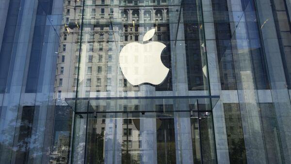 Sklep Apple w Nowym Jorku - Sputnik Polska