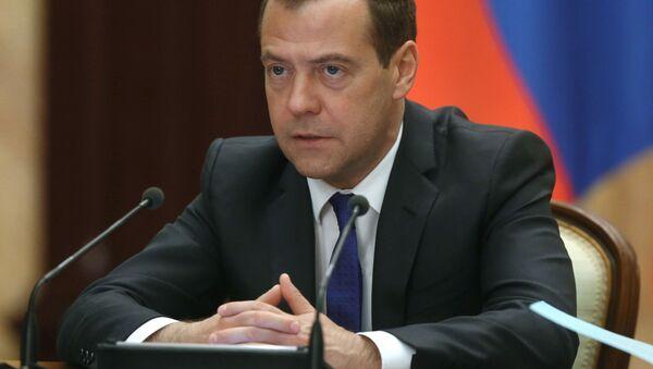 Premier Rosji Dmitrij Miedwiediew - Sputnik Polska