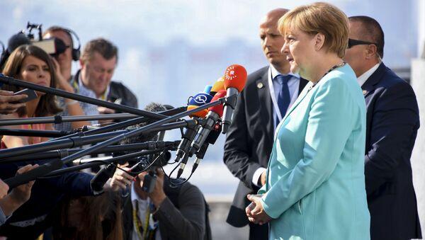 Kanclerz Niemiec Angela Merkel na nieformalnym szczycie UE w Bratysławie - Sputnik Polska