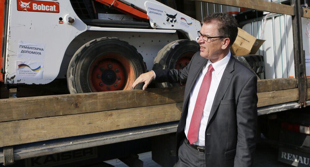 Minister ds. współpracy gospodarczej i rozwoju w rządzie Merkel Gerd Müller